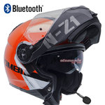 Casco NZI Combi 2 Duo Flydeck Orange Bluetooth