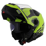 LS2 FF325 Strobe Zone Black His vis Yellow