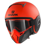 Casco SHARK Street-Drak Neon Mat Orange Black