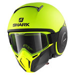Casco SHARK Street-Drak Neon Mat Yellow Black