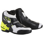 Botas Alpinestars SMX-1 R Black White Yellow