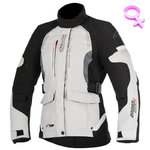 Chaqueta Alpinestars Andes V2 Drystar Lady Light Gray Black