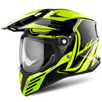 Casco AIROH Commander Carbon Yellow