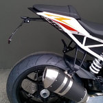Portamatrícula Lightech KTM SuperDuke 1290 2014>
