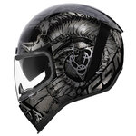 Casco ICON Airform Sacrosanct Negro