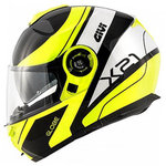 Casco GIVI X21 Challenger Globe Black Yellow