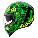 Casco ICON Airform Illuminatus Green