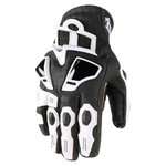 Guantes ICON Hypersport Short White