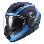 Casco LS2 FF900 Valiant II Orbit Matt Blue