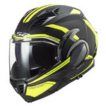 Casco LS2 FF900 Valiant II Revo Matt Black Yellow