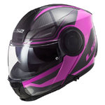 Casco LS2 FF902 Scope Axis Black Pink