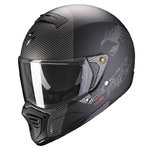 Casco Scorpion Exo-Fighter Hostium Matt Black