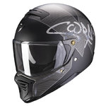 Casco Scorpion Exo-Fighter Taktic Matt Black