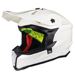 Casco MT Falcon Solid Blanco