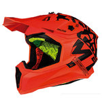 Casco MT Falcon Karson Naranja mate