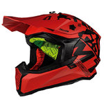 Casco MT Falcon Karson Rojo mate