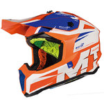 Casco MT Falcon Weston Naranja
