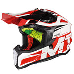 Casco MT Falcon Weston Rojo
