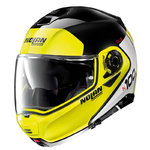 Casco Nolan N100-5 Plus Distinctive N-Com Yellow Glossy