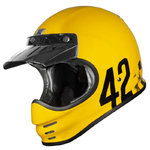 Casco Retro ORIGINE Virgo Danny Amarillo brillo