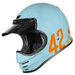 Casco Retro ORIGINE Virgo Danny Azul claro