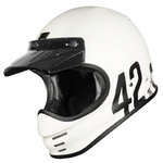 Casco Retro ORIGINE Virgo Danny Blanco mate
