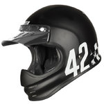 Casco Retro ORIGINE Virgo Danny Negro mate