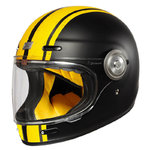 Casco Retro ORIGINE Vega Custom Amarillo Negro mate