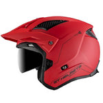 Casco MT District SV Solid Matt Red