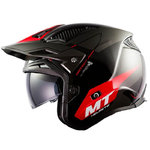 Casco MT District SV Summit Gloss Red