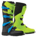 Botas THOR Blitz XP Green Black