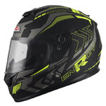 Casco NZI Fusion Energy Matt Black Yellow