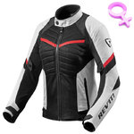 Chaqueta REVIT ARC AIR Lady White Red
