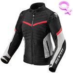 Chaqueta REVIT ARC H2O Lady Black Red