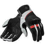 Guantes REVIT Mosca Black Red