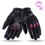 Guantes Seventy Degrees SD-C26 Lady Black Pink