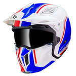 Casco MT Streetfigther SV Twin Gloss Pearl Blue