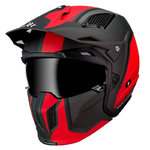 Casco MT Streetfigther SV Twin Matt Red