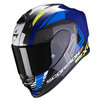 Casco Scorpion Exo R1 Air Halley Blue Neon Yellow