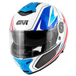 Casco Givi X21 Challenger Shiver Blue Red
